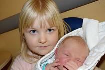 David Paris ze Soběslavi. Narodil se 26. ledna 2020 ve 21.22 hodin jako druhé dítě v rodině.Jeho váha byla 3690 gramů, měřil 50 cm a už má téměř čtyřletou sestřičku Kateřinu.