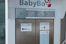 Babybox u G-centra na Pražském sídlišti v Táboře na Bílou sobotu 11. dubna ráno ukrýval malého chlapce.