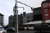 Celkem dvacet oznámení občanů se týkalo utrženého semaforu na nám. Fr. Křižíka