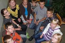 S dětmi ze ZŠ Blatské sídliště ve Veselí nad Lužnicí jsme tentokrát probírali volby, zastupitelstvo a senát.
