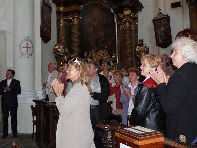 Jubilejní 20. varhanní koncert v kostele sv.Františka Xaverského v Opařanech.