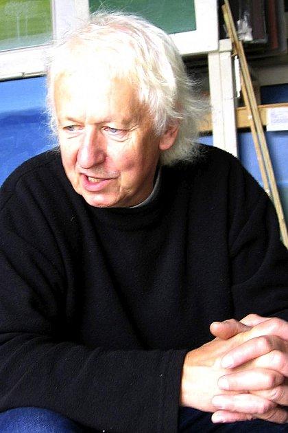 OSLAVENEC. Sezimoústecký rodák, akademický malíř Jiří Kaloč se dnes dožívá 70let.