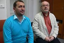 Denis Gehin (vpravo) a Stéphane Castagniér.