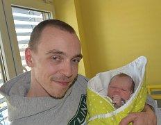 Vojtěch Vondrák z Tábora. Rodiče Pavla a Vojtěch se 10. května v 7.50 hodin dočkali svého prvorozeného syna. Jeho váha po narození byla  2770 gramů a měřil 49 cm.