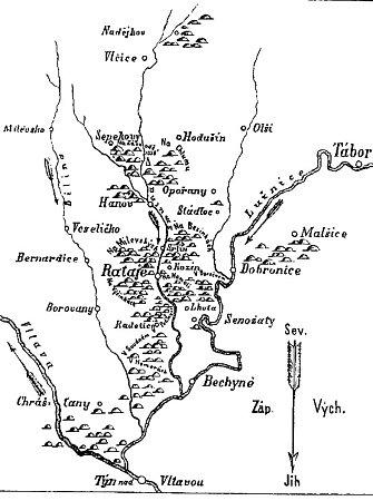 MAPOVÁNÍ. Jan Karel Hraše tvořil mapu, která ukazuje, kde se na Táborsku vyskytují pohanská pohřebiště.