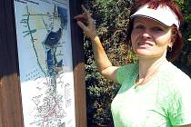 V roce 2011 otevřeli Jistebničtí naučnou stezku Jistebnickými sady. I ta je součástí Čertova břemena.