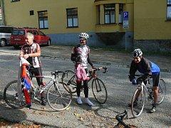 Závodu do vrchu se v Bechyni zúčastnilo osm cyklistů