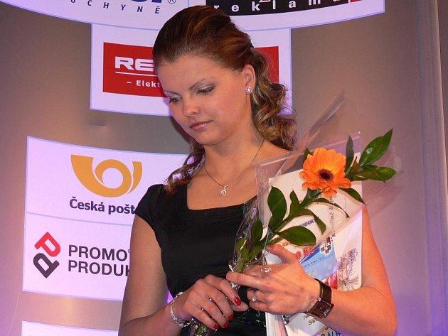 Táborští atleti jsou díky svým úspěchům na společenské akce zvyklí. Kateřina Rajmová (na snímku) je žhavou favoritkou na ocenění táborské Atletky roku.