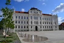 Náměstí T.G. Masaryka v Táboře.
