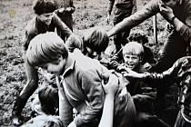 Děti ze základní školy v Želči.