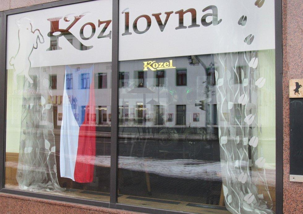 K Výzvě se připojila také symbolicky táborská Kozlovna u Františka.
