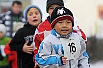 Na trať se opět vydali také malí sportovci.