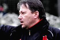 Trenér FK Tábor Jan Klimek.