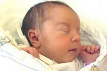 JITKA MATOUŠKOVÁ z LIBĚJIC. Narodila se 18. července v 6.03 hodin. Vážila 3680 g a měřila 49 cm. Má sestru Táňu (1,5) a bratra Bořka (3).