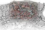 Tábor získal darem digitální model centra města.