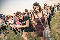 Táborský letní hudební festival Mighty Sounds.