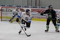 Z utkání extraligy dorostu HC Tábor vs. BK Mladá Boleslav (3:6).