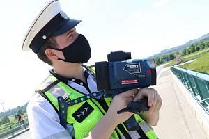 Dálniční policie.