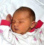 TEREZA HÁLOVÁ Z ČEKANIC. Na svět přišla 30. ledna v 18.47 hodin. Vážila 3690 g, měřila 51 cm a doma už má sestru Adélku (14).