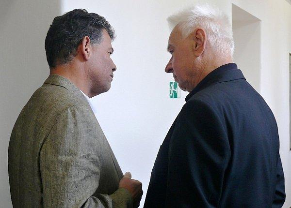 Stanislav Snášel a Karel Berka