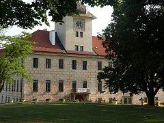 Bechyňský zámek - bývalé sídlo Petra Voka.
