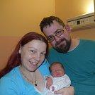 Ladislav Švarc z Klenovic. Rodiče Jindřiška a Ladislav se svého prvorozeného syna dočkali 29. ledna šestnáct minut po dvanácté hodině. Vážil 3590 gramů a měřil  49 cm.