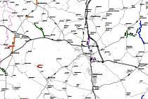 Podrobnou mapu uzavírek a další informace naleznete na webu Jihočeského kraje.