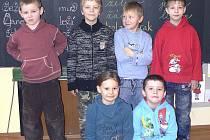 PRVŇÁČCI Růžena, David, Petr, Dominik, David a Martin ze Základní školy Zborovská Tábor vyprávěli, co vědí o Velikonocích.