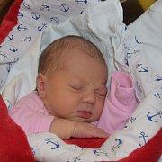 Eliška Suchárová ze Sezimova Ústí. Narodila se 27. listopadu v 16.37 hodin. Vážila 2970 gramů, měřila 48 cma je prvním dítětem rodičů Jany a Jana.
