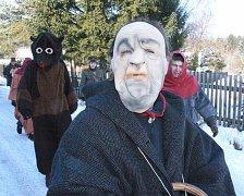 Chotovinské masky v Jedlanech.