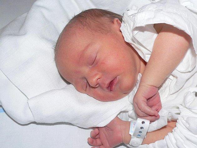 Dominik Šťastný, 8. 3. 2008 v 9.25 hodin, 2 750 g, 50 cm, Malšice