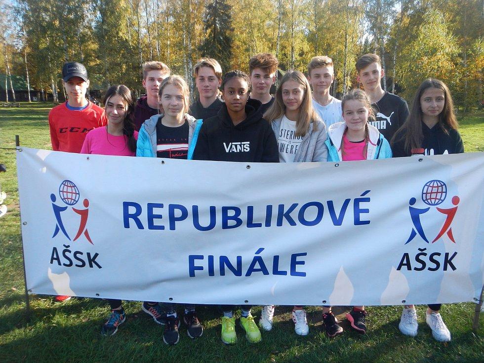 Ve čtvrtek 17. října vyrazili žáci ZŠ Zborovská na republikové finále do Hradce Králové.