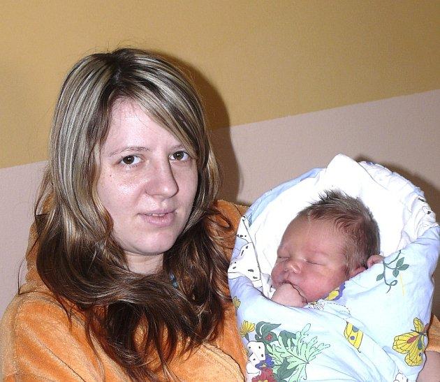JOSEF MANN Z BECHYNĚ. Svého prvorozeného syna se rodiče Hana a Josef dočkali 29. prosince padesát tři minut po druhé hodině. Po narození malý Josef vážil 3490 g a měřil 50 cm.