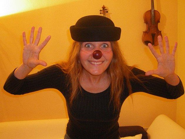 KLAUN. Červený nos je už jediná klaunova hmatatelná vzpomínka na dobu, kdy rozesmával české i rakouské děti.