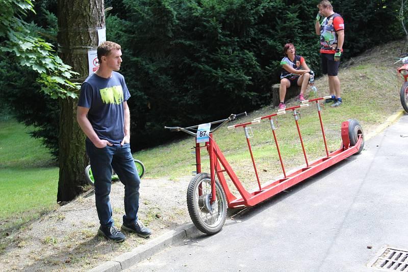 Bechyni v sobotu ovládly koloběžky. Konal se v ní totiž již 49. ročník koloběžkové Grand Prix Bechyně.
