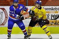 Táborští hokejisté se pokusí na ledě Kadaně rozvzpomenout na výhru z Písku.