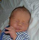 Josef Pilař z Tábora. Poprvé na svět pohlédl   13. listopadu deset minut po čtrnácté hodině. Po narození mu navážili  3250 gramů a naměřili 49 cm.