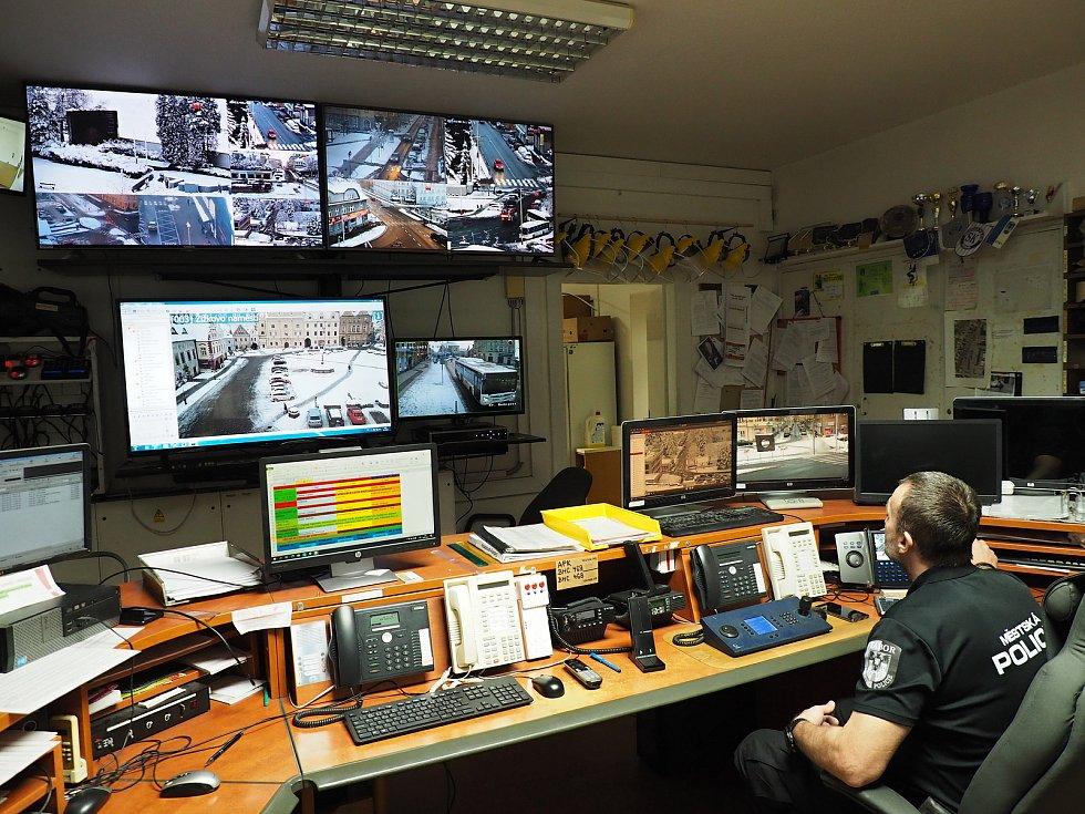 Bývalé popraviště sleduje nová kamera městské policie.