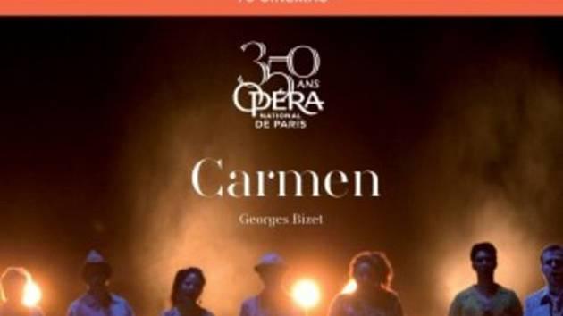 Ilustrační foto filmové opery Carmen 2018.