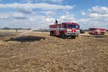 I díky včasnému zásahu hasičů se oheň nerozšířil.