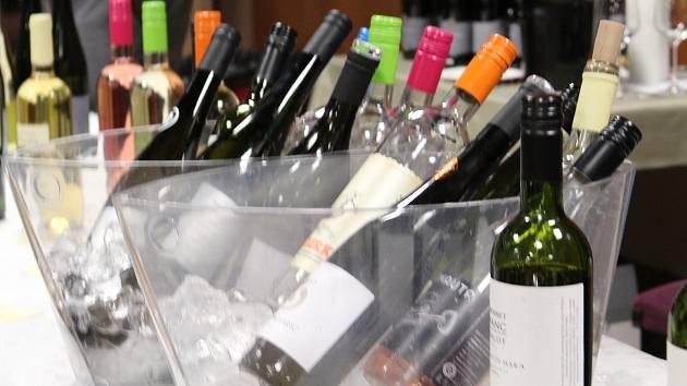 Ochutnávka festivalu vína v Táboře. Ilustrační foto.