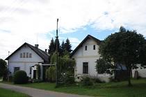 Malebná vesnička Chrbonín.