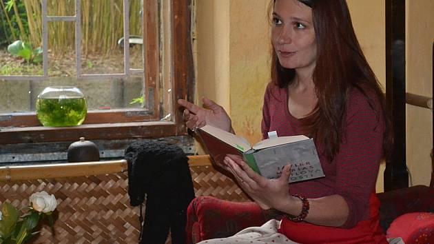 Pavla Kohelová bude číst v kostele CČE v Táboře.