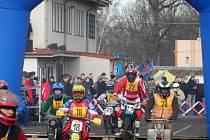Závody strojů Jawa 50 Pionýr v Soběslavi.