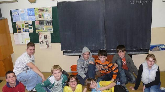 S dětmi ze Základní školy v Sudoměřicích u Bechyně jsme si tentokrát povídali o fobiích