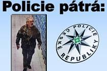 Policisté hledají muže na fotografii.