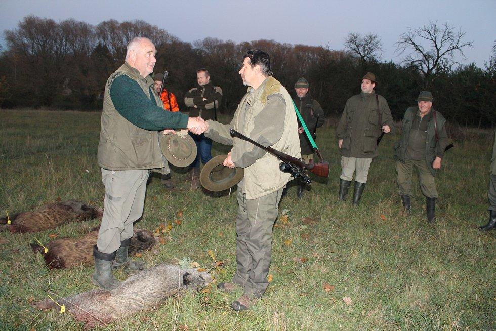 Blahopřání lovci.