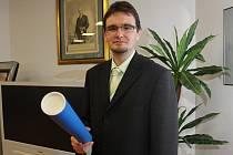 Jižní Čechy v soutěži Cena Edvarda Beneše letos reprezentoval Jiří Bílek z Písku.