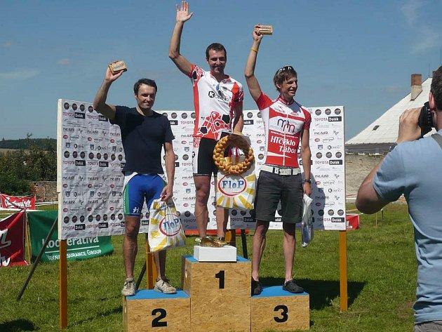 Nejlepší cyklisté Vožického maratonu 2010.