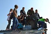 Setkání s armádou v Chýnově.